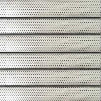 Perforated Venetian Blind - Silver