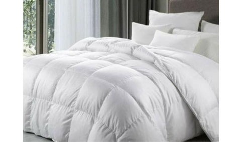 Plain duvet/Quilt set 8pcs-white