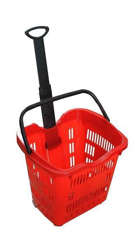Plastic Multipurpose Trolley Basket- 50Litres