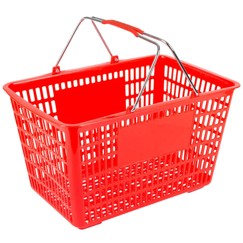Plastic Shopping Basket 19.5L