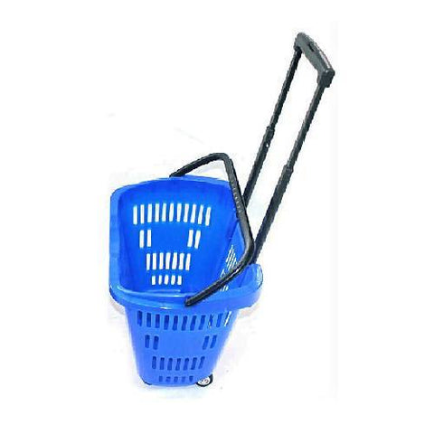 Plastic Supermarket Trolley