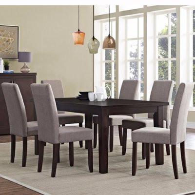 Precious 7 Piece Dining Set - Beige