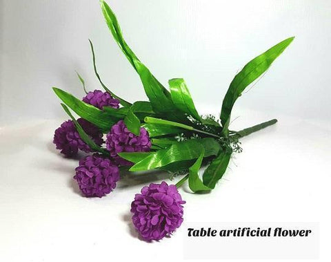 Purple Artificial Table Flower for Vases