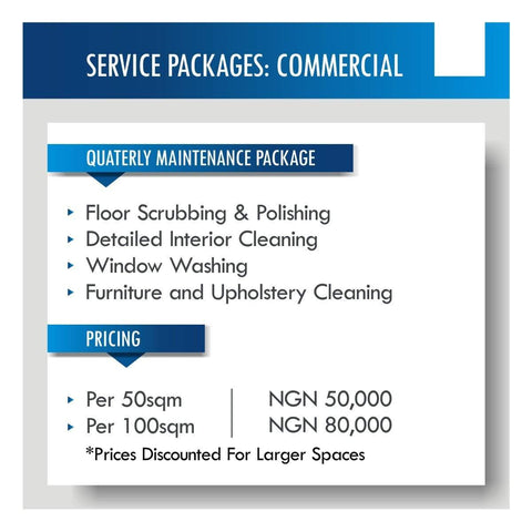 Quarterly Shop/Office Cleaning & Maintenance Service