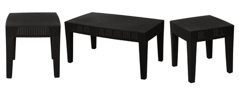Ranoush Centre Table + 2 Side Tables