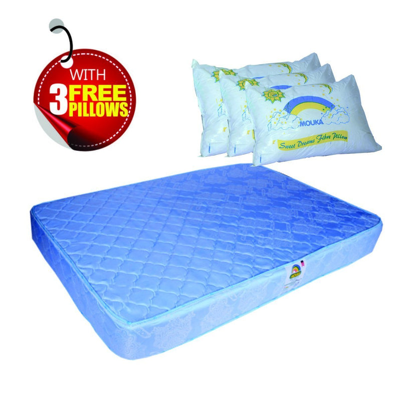 Regal-75848 Orthopedic Mattress- L 6ft x W 7ft x H 8""