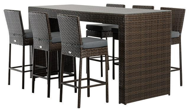 Renava Genua Outdoor Bar Table Set