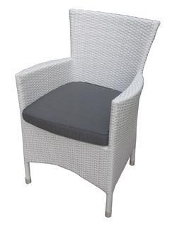 RENT A CHAIR -  Santorini Armchair-White