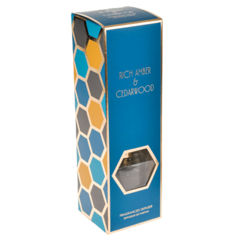 Rich Amber And Ceaderwood 100ml Fragrance Diffuser