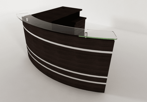 Rio Reception desk - 2m x 1.4m
