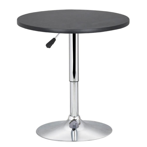 Round Bar Adjustable Table