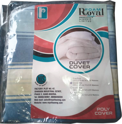 Royal Duvet Cover 100% Cotton