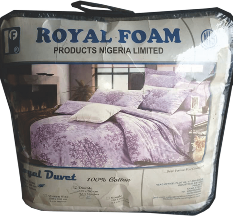 Royal Foam Fiber Duvet