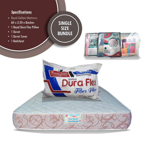 Royal Foam Single Size Mattress Bundle Offer