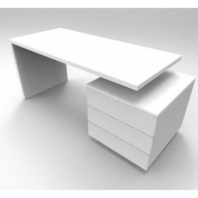 Ruby Series Office Table -White