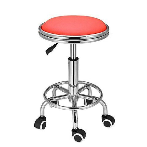 Salon Barber Red Bar Stool