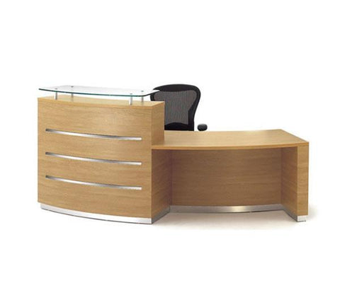 Scene 002-Curve reception Desk
