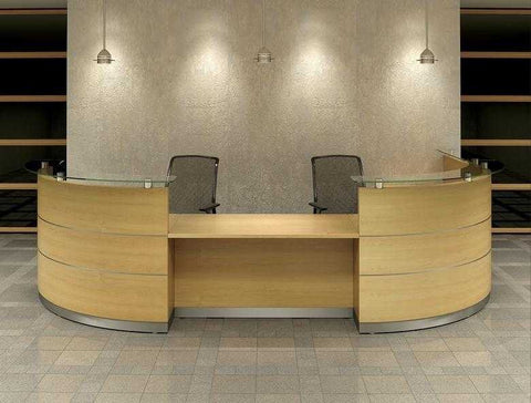 SCENE-CURVED RECEPTION DESK 6