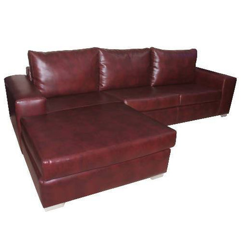 Sectional Leather Sofa Set