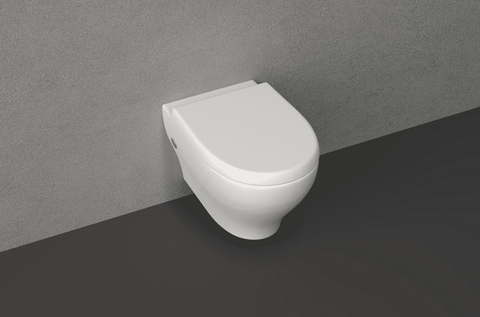 Sentimenti II Wall-Hang Water Closet With Soft Close Seat Cover