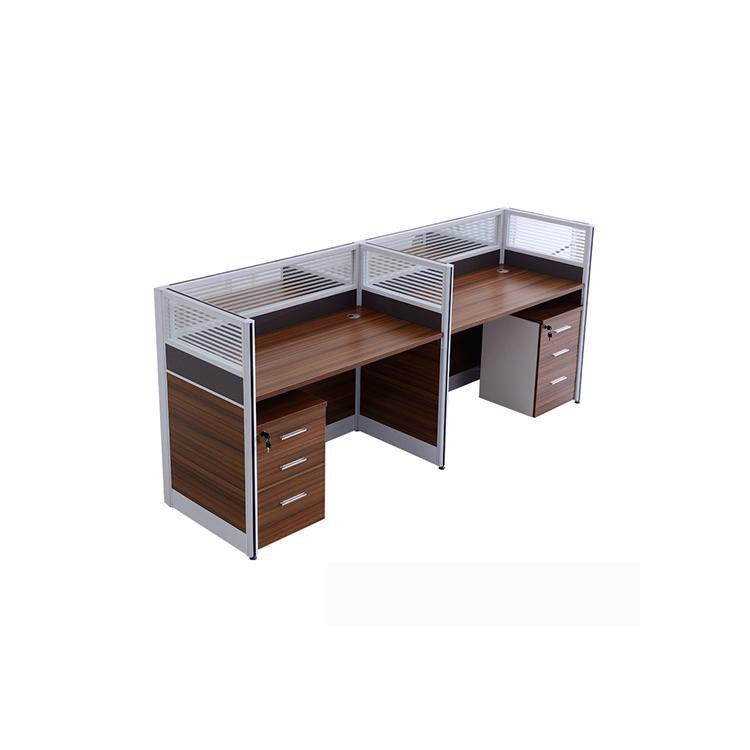 Shisheng Modern 2 Person Workstation - Cherry