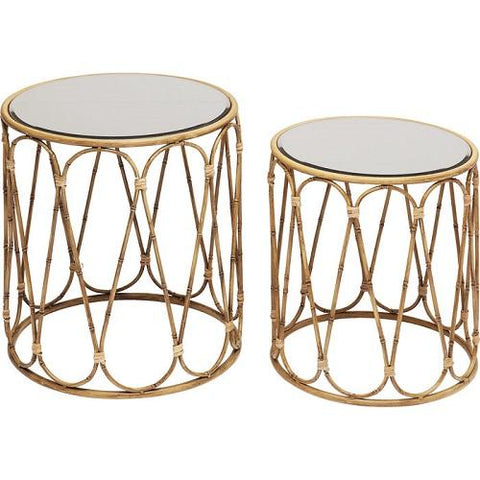 Side Table Bamboo Loop (2/Set)