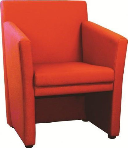 Sitter Red Leisure Tub Chair- EM L1003