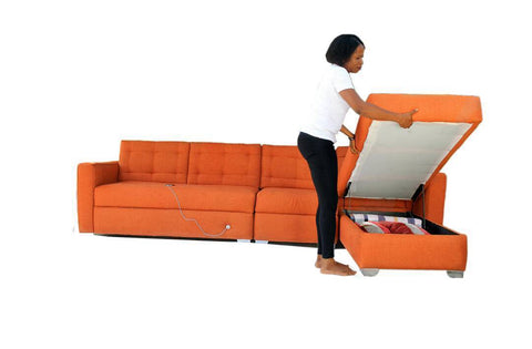 Smart sofa with Electric Socket