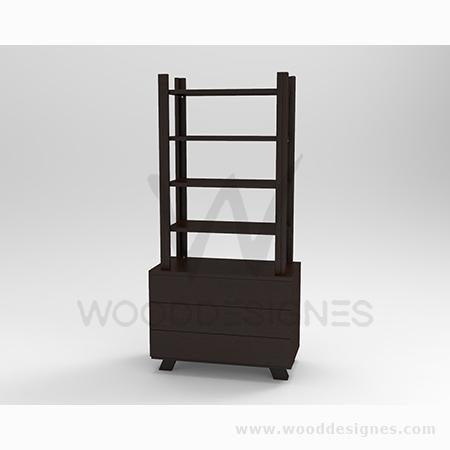 Solangé series Shelf (Dark-brown)