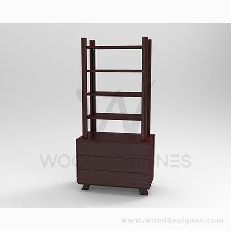 Solangé series Shelf (Red-brown)