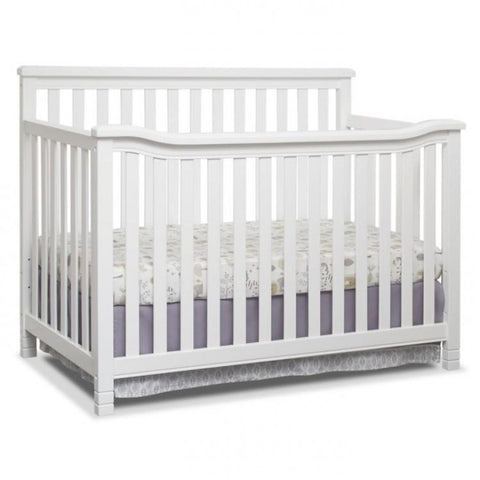 Sorelle Annie Elite 4 in 1 Convertible Crib with Free Mattress and Pillow