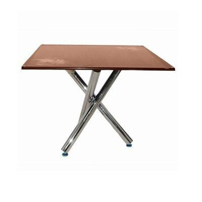 Square Dining Table - Brown