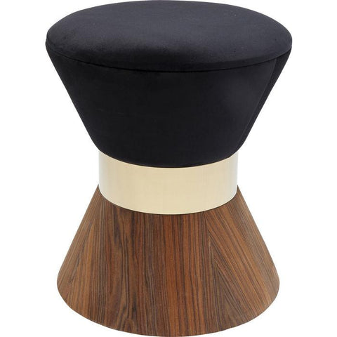 Stool Lilly Taille Black Ø40cm