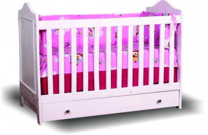 Storage Wooden Baby Cot Only
