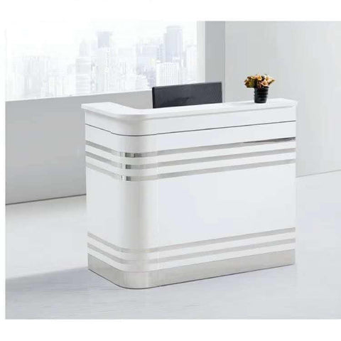 Stripe Reception Office Table 1.2mtr
