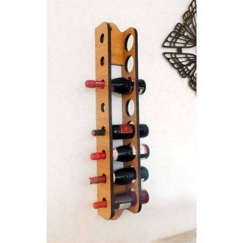 Sublime Floating Wine Rack