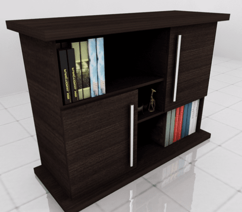 Thatch Cabinate Bookshelf