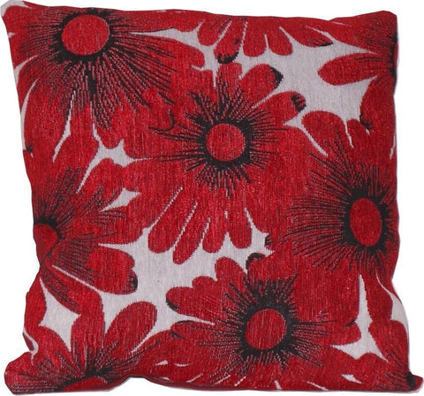 Throw Pillows-Red