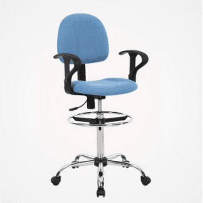 Toll free Drafting Stool - Blue -EM-SE01