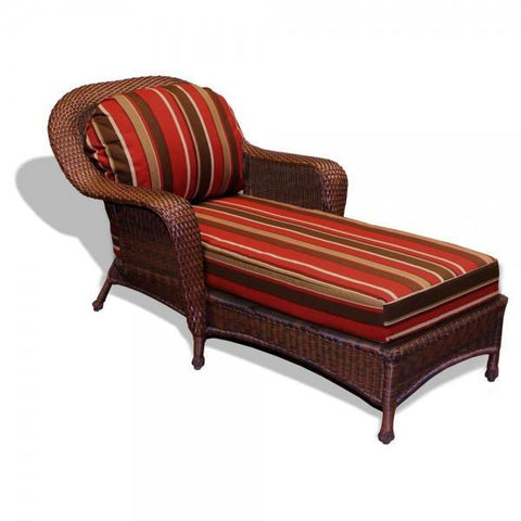 Tortuga Outdoor Sea Pines Rattan Chaise Lounge