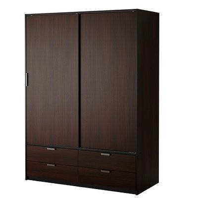 Trysil Wardrobe with Sliding Doors