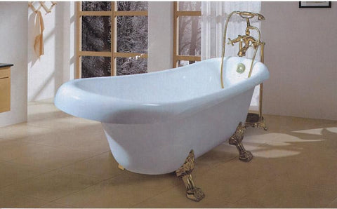Verono Clawfoot Freestanding Bathtub