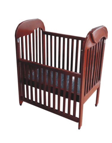 Vita Cottage Wooden baby Cot-4x2ft