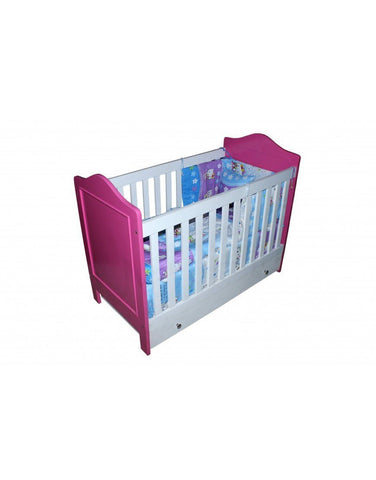 Vita Storage Wooden Baby Cot-4x2ft