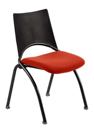 """WAP"" MEETING ROOM CHAIRS-BLACK/RED"
