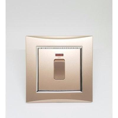 Water Heater Champagne Gold Switch - 20A