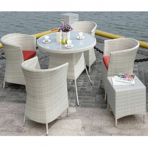 Weedoo 6 Unit Outdoor Rattan Garden Patio Set