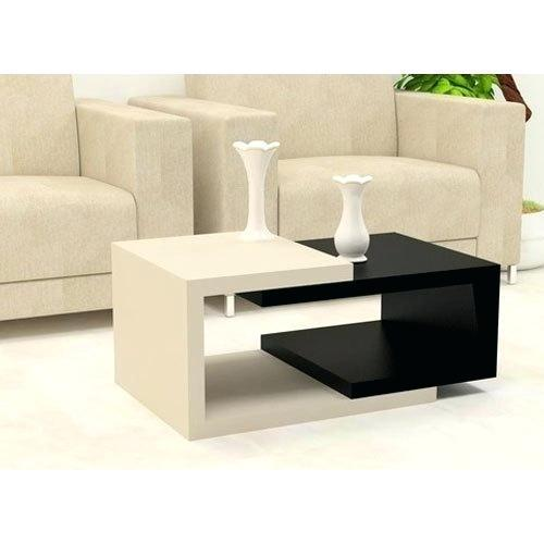 White And Black Modern Centre Table