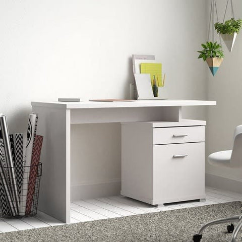 White Home Office Table