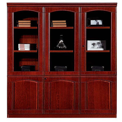 Wooden 6 Door File Cabinet (BL308)